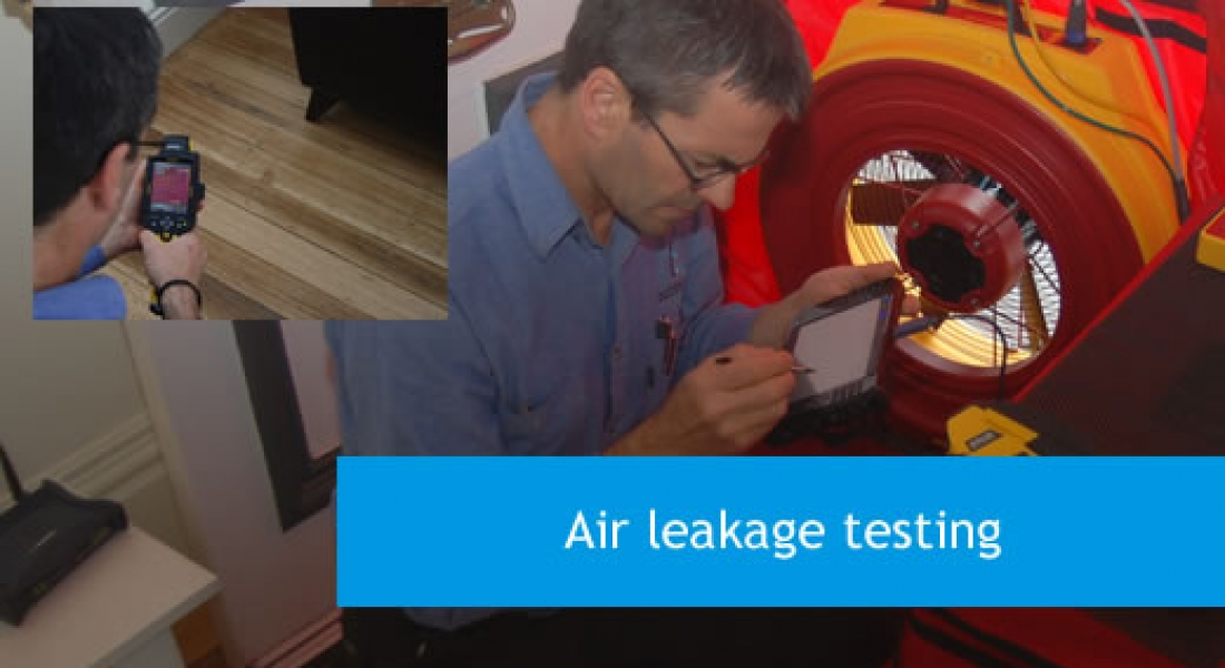 Air leaking testing