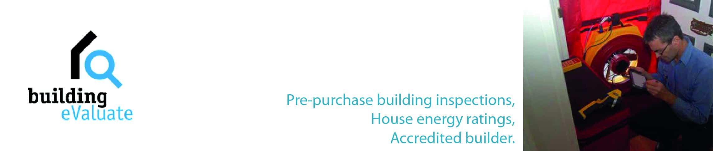 Building Inspection, Home Inspection | Building Evaluate, Hobart Tasmania Logo